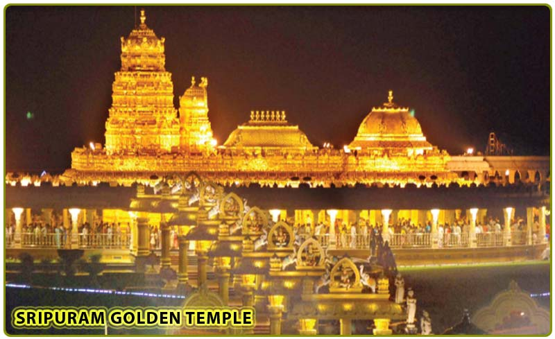 vellore golden temple images. Vellore Golden Temple: grand